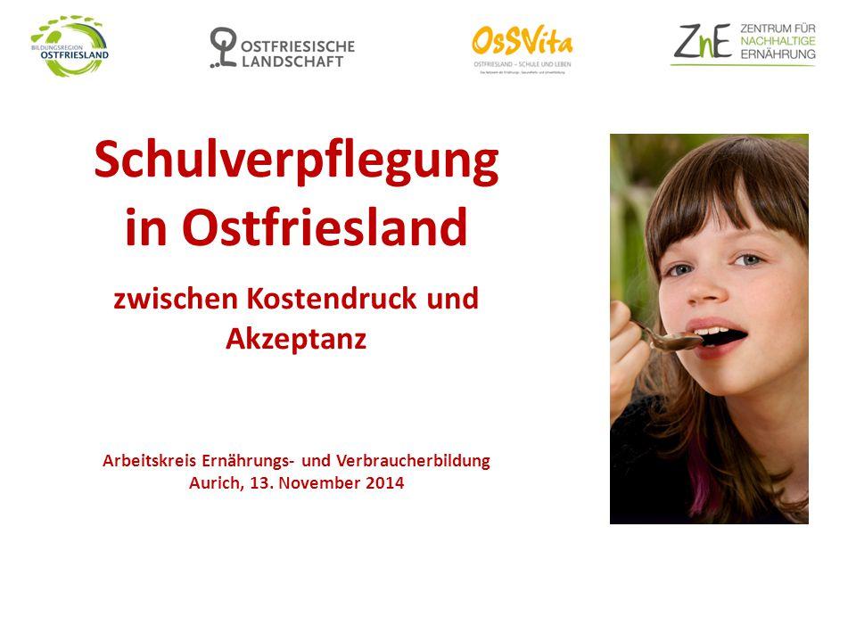 Schulverpflegung in Ostfriesland