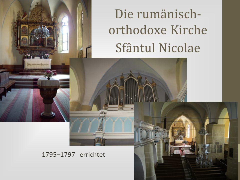 Die rumänisch-orthodoxe Kirche Sfântul Nicolae