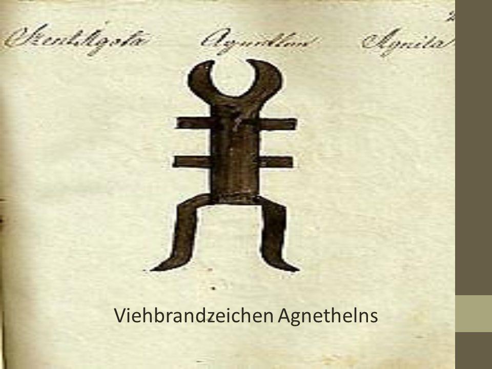 Viehbrandzeichen Agnethelns