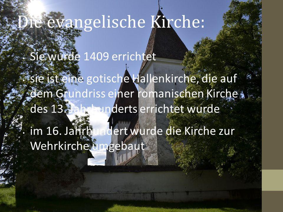 Die evangelische Kirche: