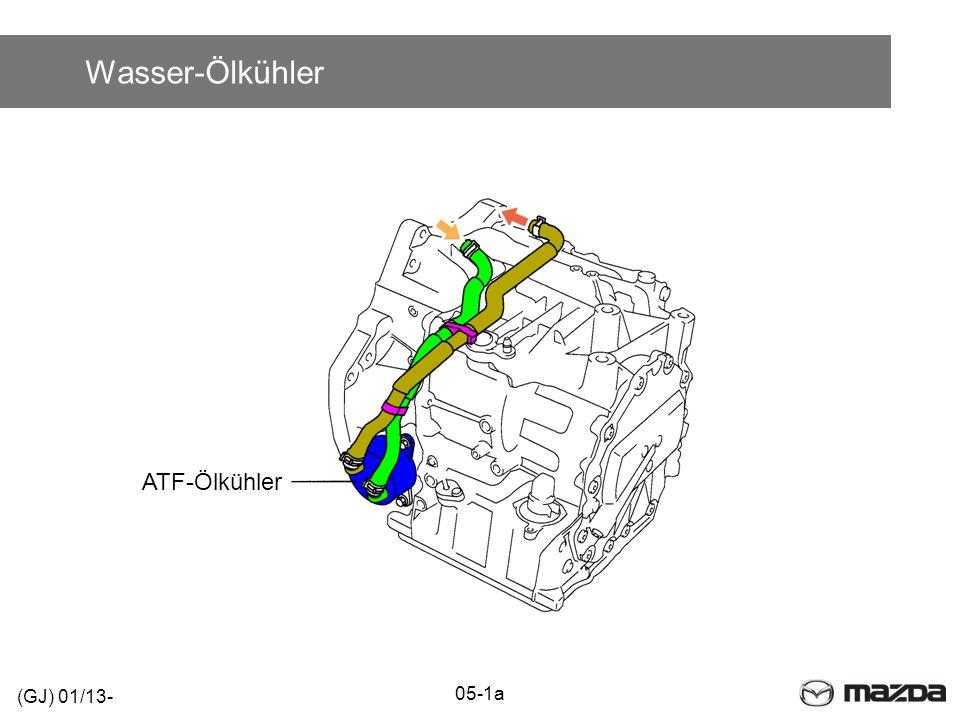 Wasser-Ölkühler ATF-Ölkühler (GJ) 01/13- 05-1a