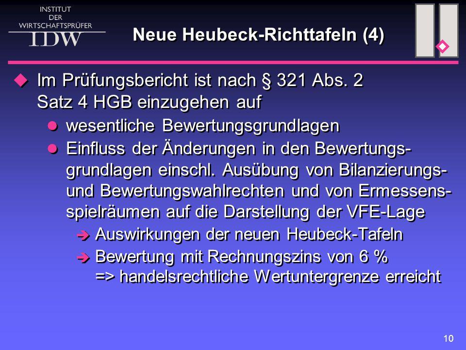 Neue Heubeck-Richttafeln (4)