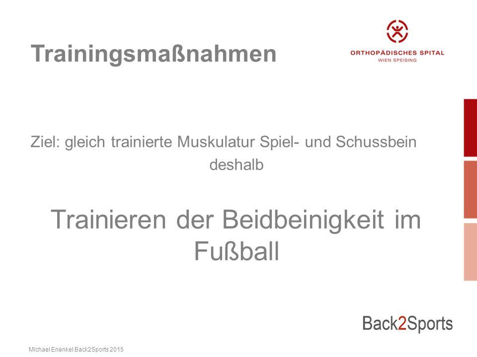 Trainieren der Beidbeinigkeit im Fußball