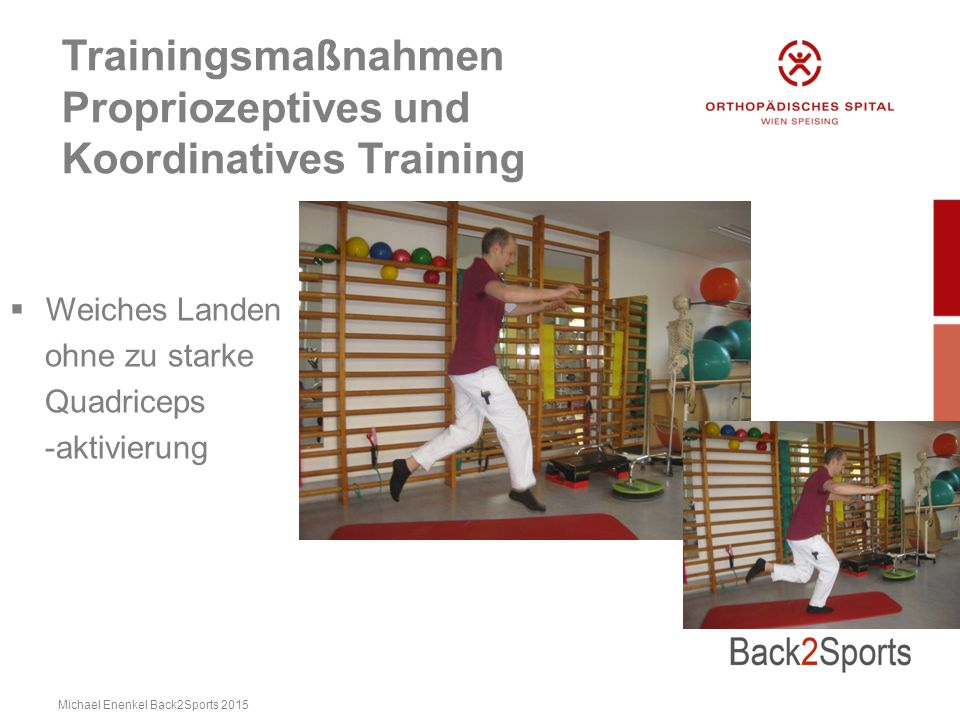 Trainingsmaßnahmen Propriozeptives und Koordinatives Training