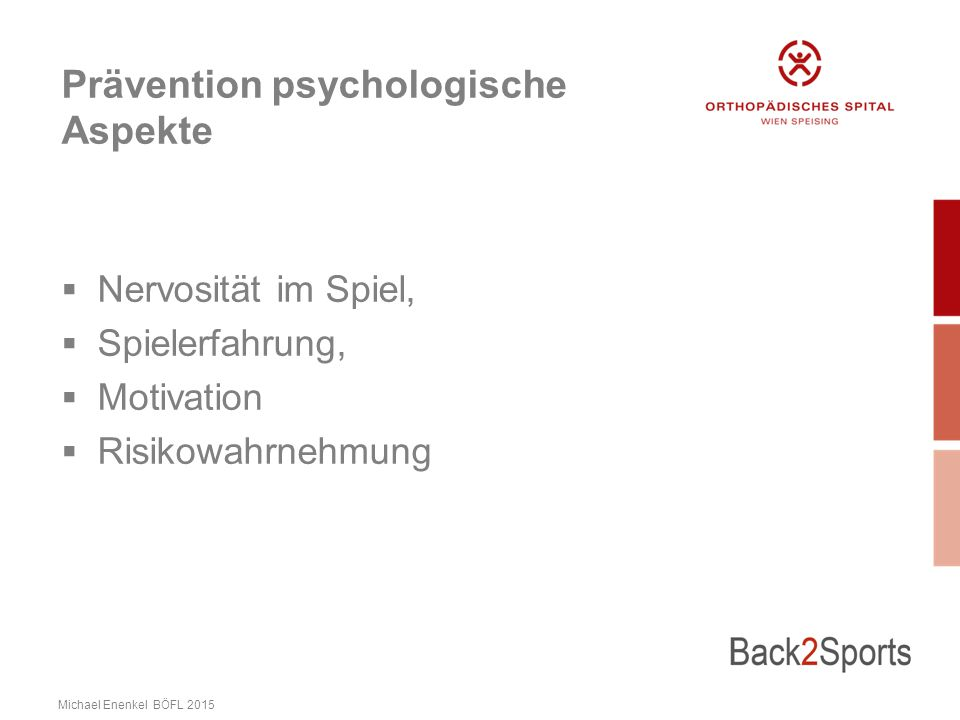 Prävention psychologische Aspekte