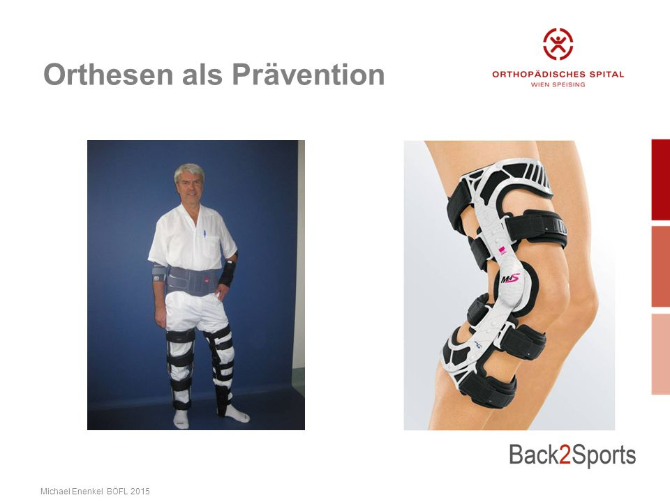 Orthesen als Prävention