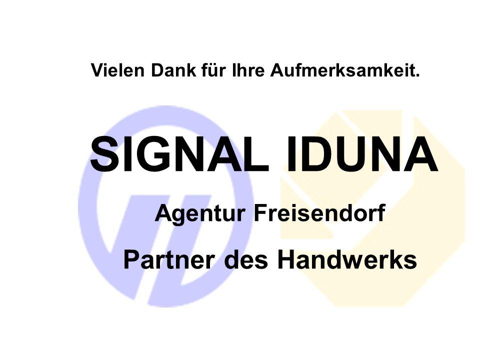 SIGNAL IDUNA Partner des Handwerks Agentur Freisendorf