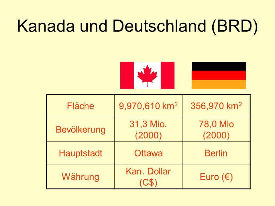 Kanada und Deutschland (BRD)