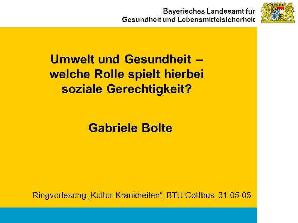 """Ringvorlesung """"Kultur-Krankheiten , BTU Cottbus, 31.05.05"""