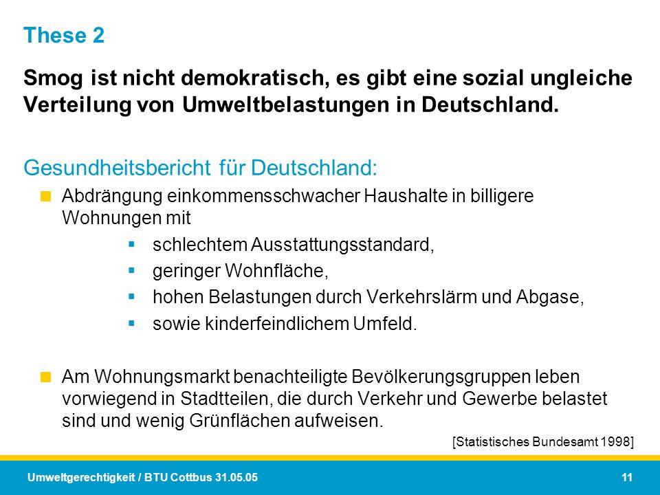 Gesundheitsbericht für Deutschland: