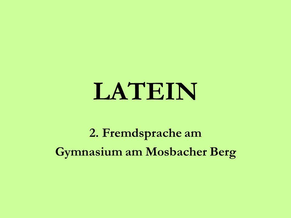 2. Fremdsprache am Gymnasium am Mosbacher Berg