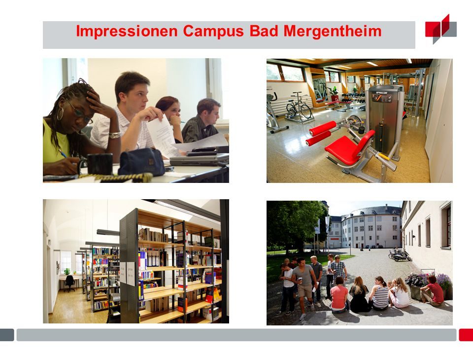 Impressionen Campus Bad Mergentheim