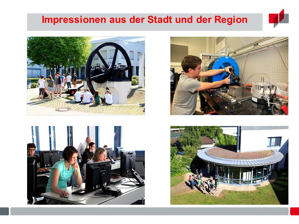Impressionen aus der Stadt und der Region