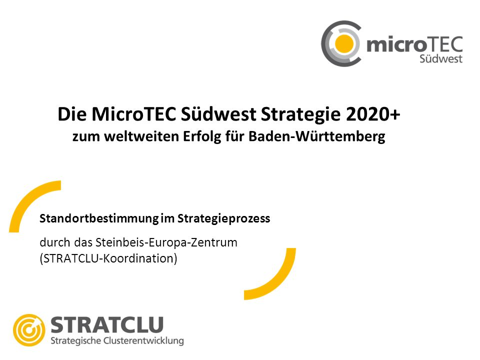Die MicroTEC Südwest Strategie 2020+