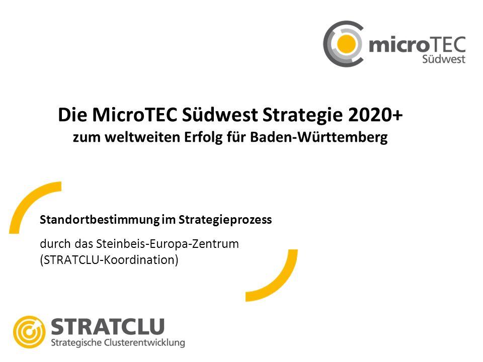 Die MicroTEC Südwest Strategie 2020+