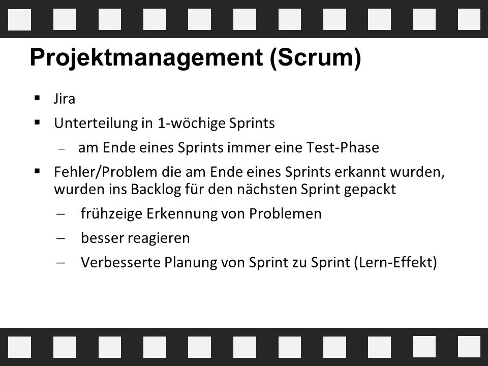Projektmanagement (Scrum)