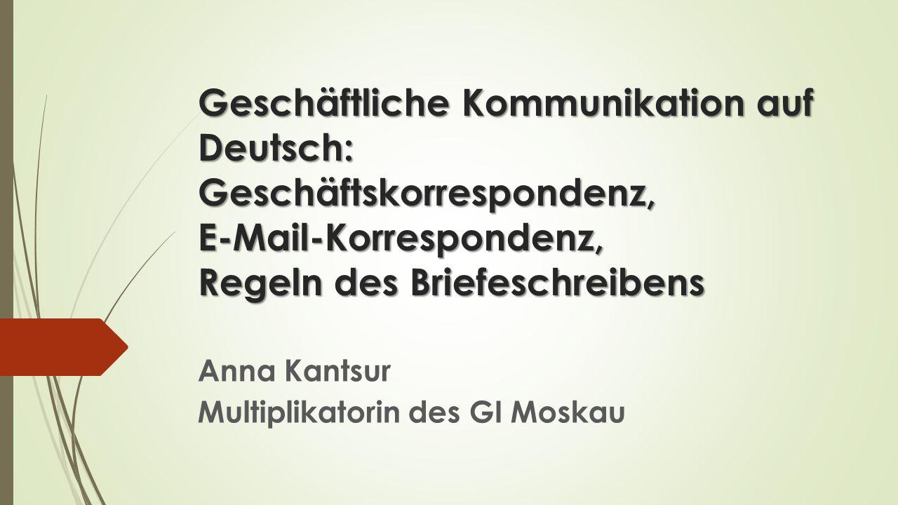 Anna Kantsur Multiplikatorin des GI Moskau