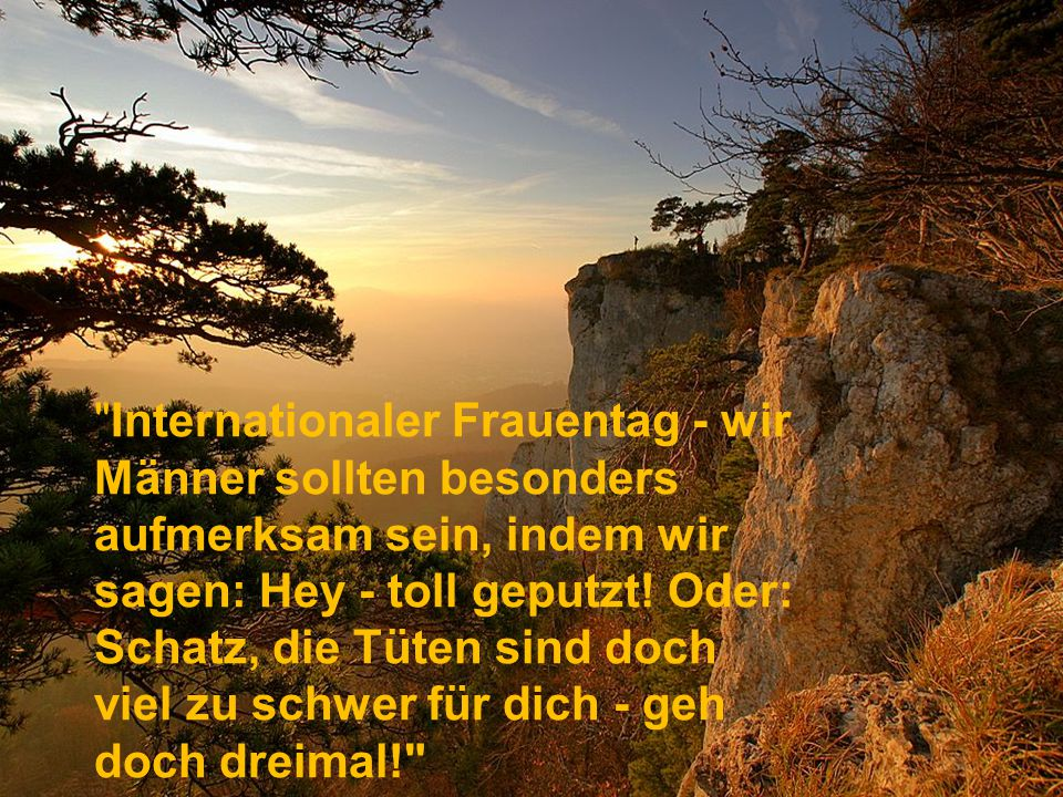 Internationaler Frauentag - wir