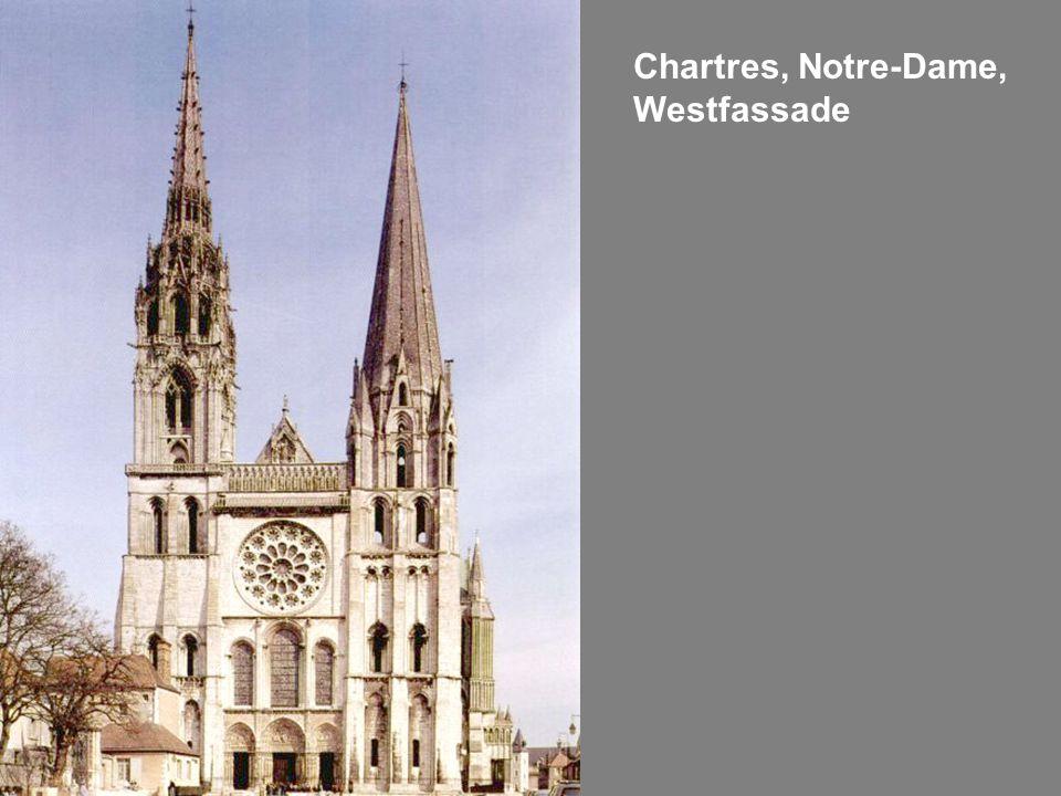 Chartres, Notre-Dame, Westfassade