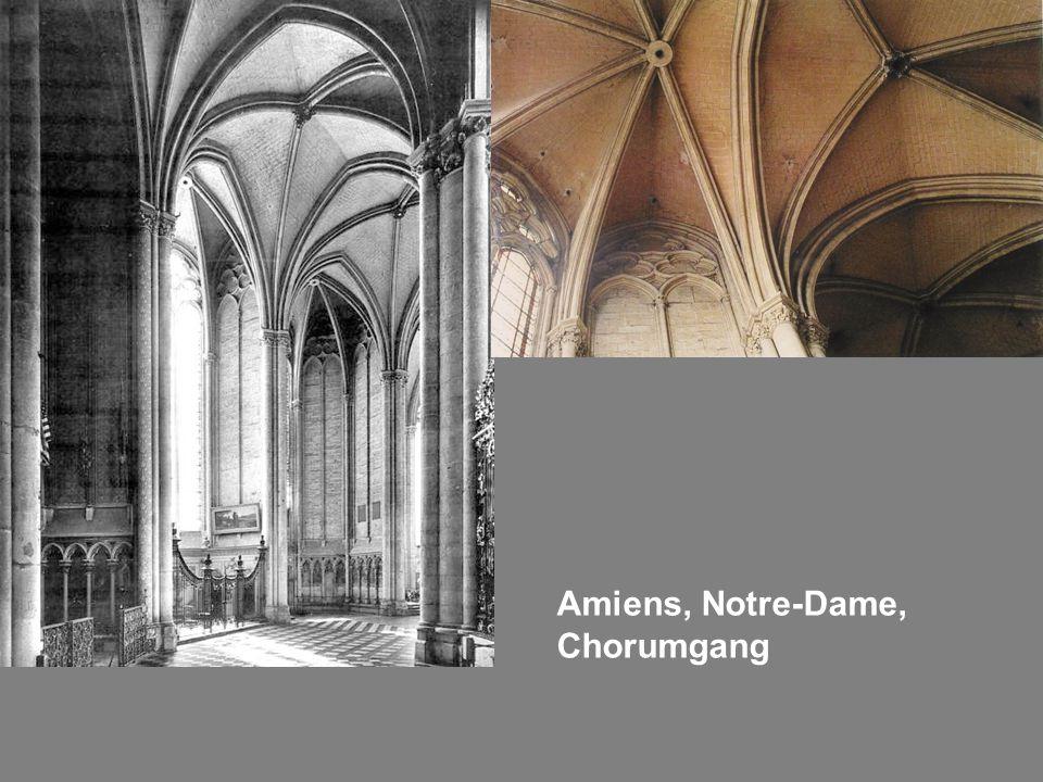 Amiens, Notre-Dame, Chorumgang