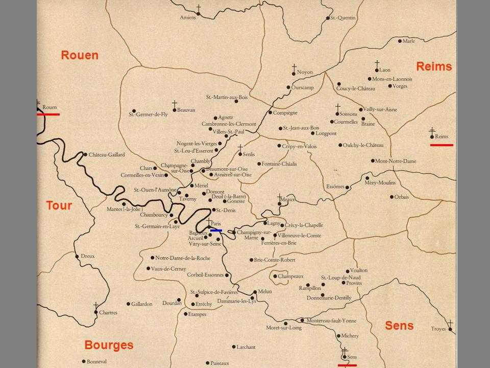 Rouen Reims Tour Sens Bourges