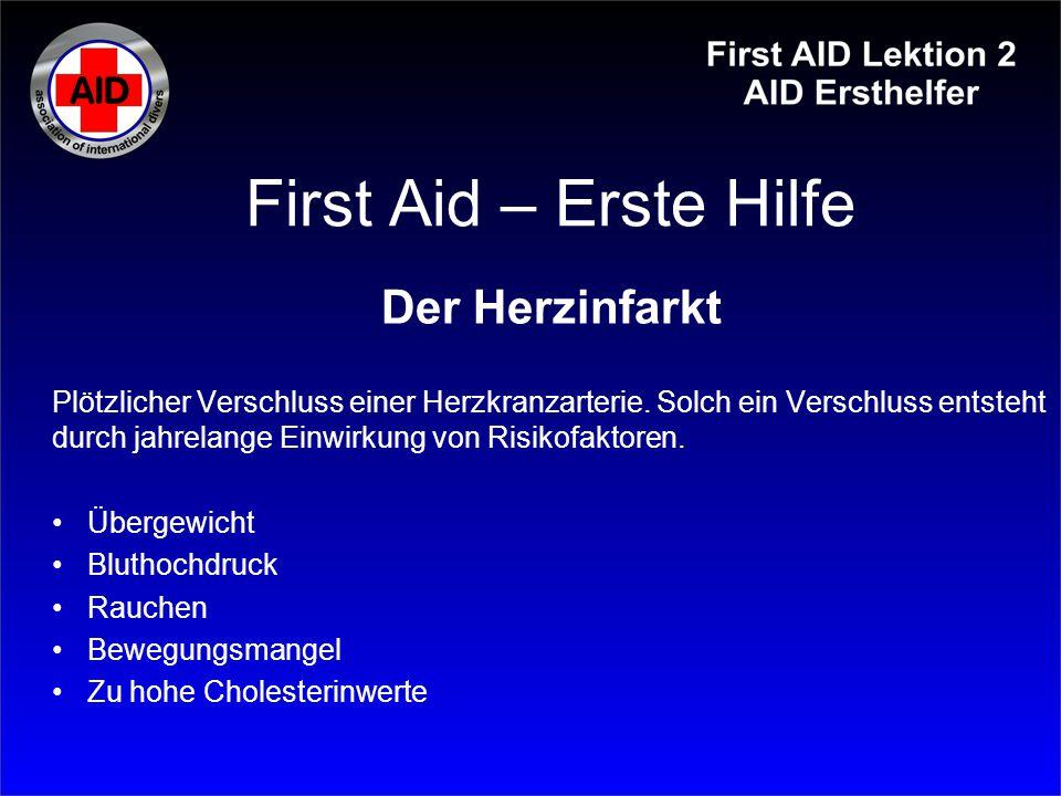 First Aid – Erste Hilfe Der Herzinfarkt