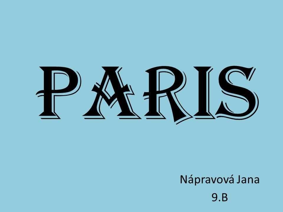 Paris Nápravová Jana 9.B