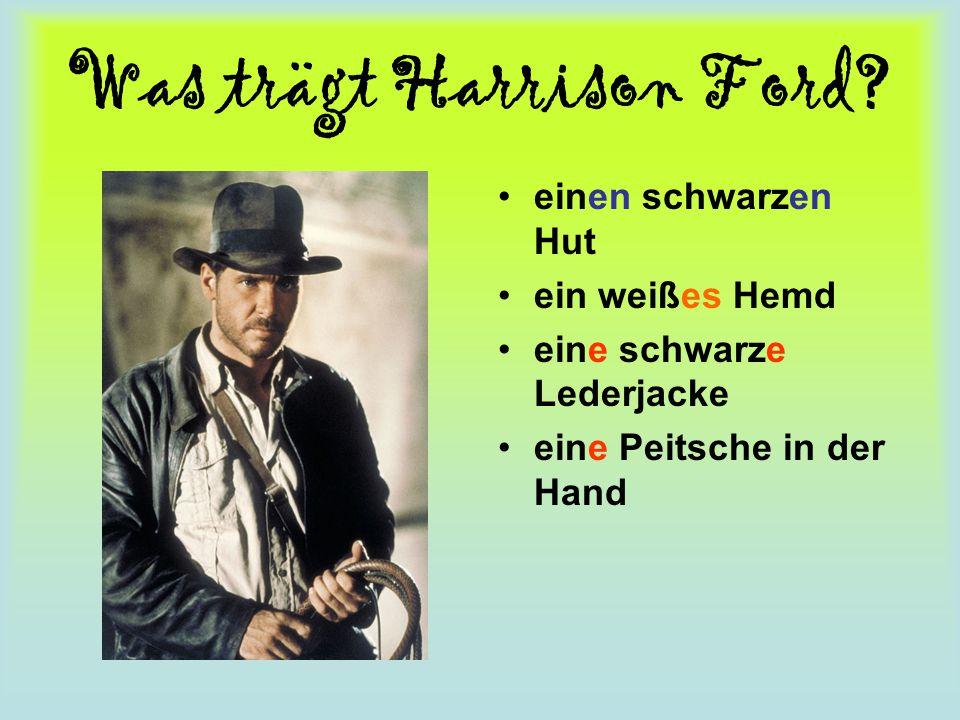 Was trägt Harrison Ford