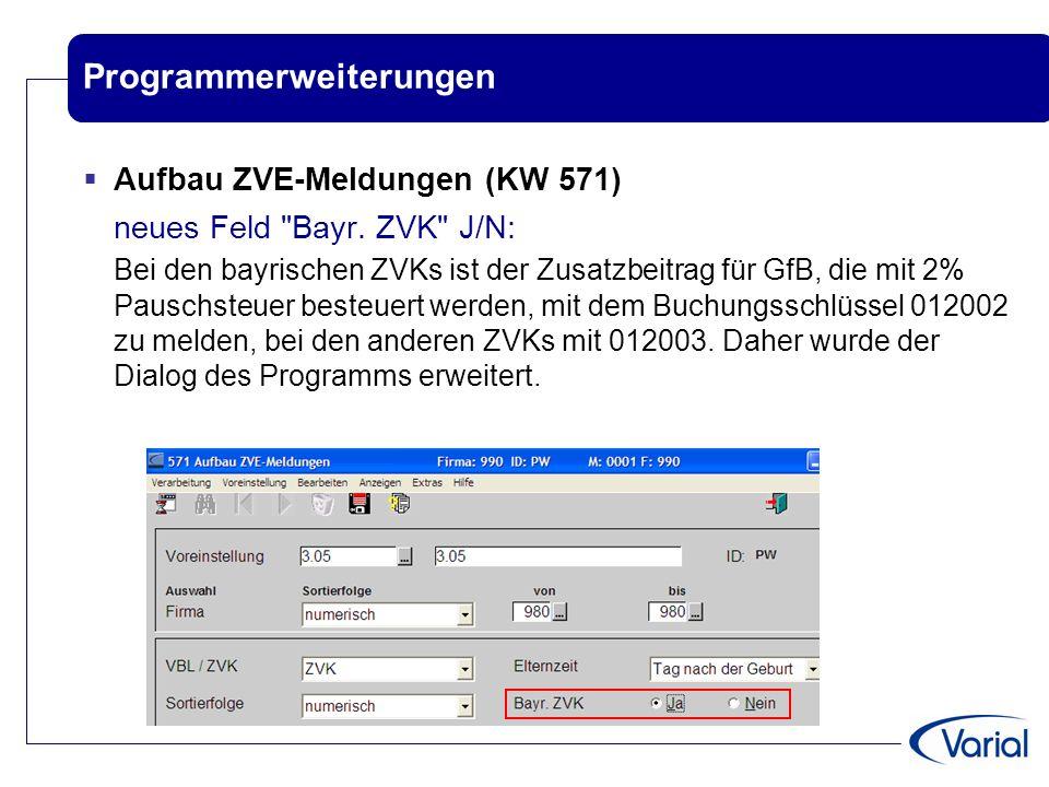 Programmerweiterungen