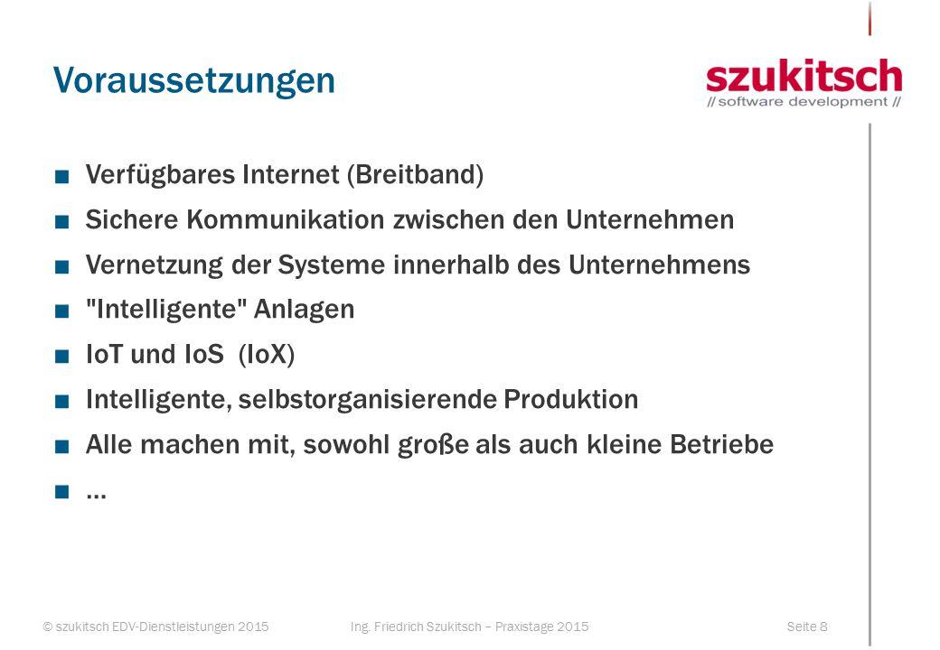 Voraussetzungen Verfügbares Internet (Breitband)
