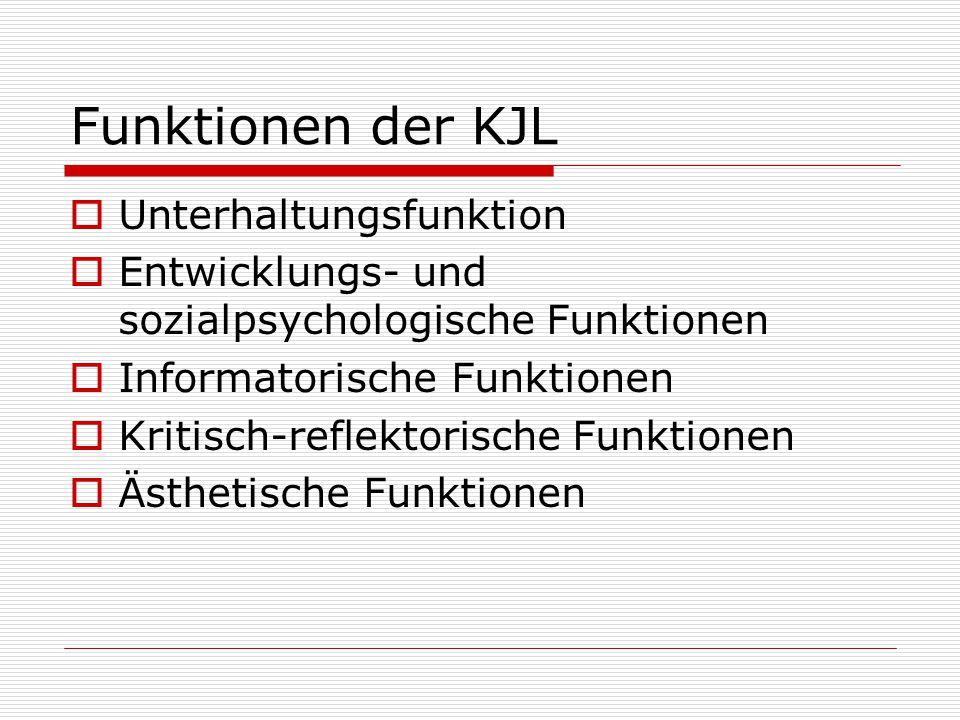 Funktionen der KJL Unterhaltungsfunktion