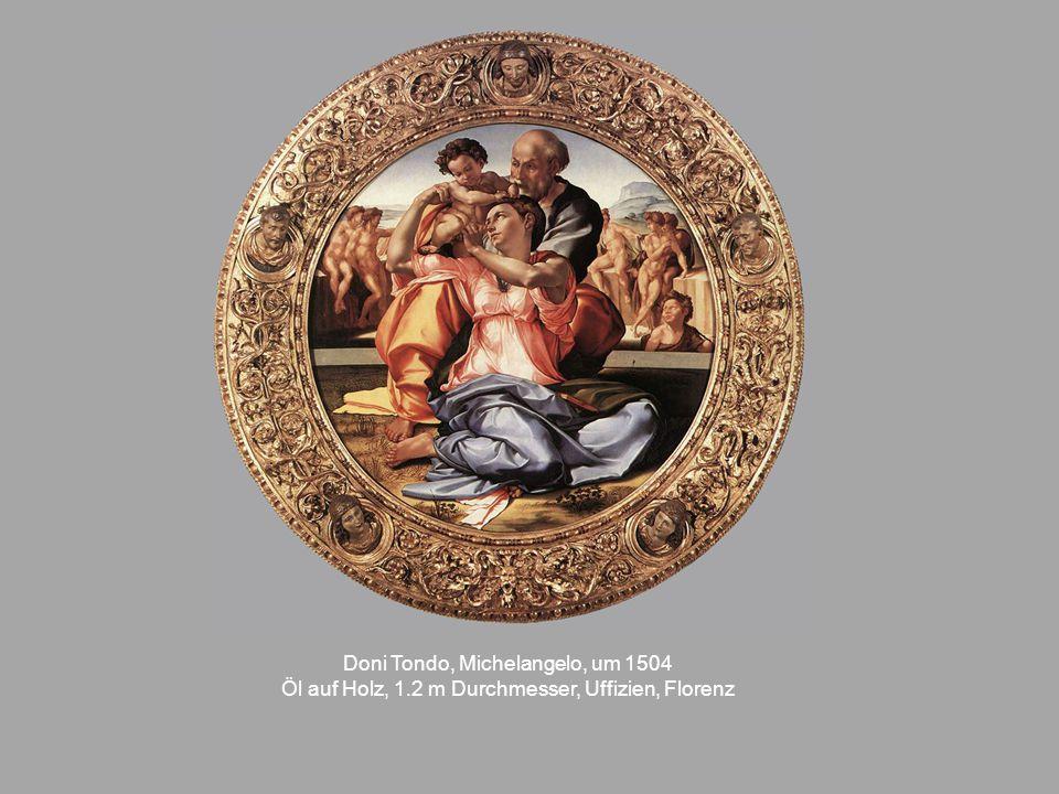 Doni Tondo, Michelangelo, um 1504