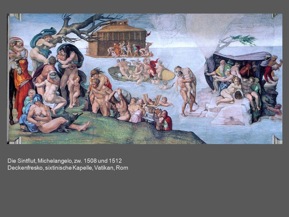 Die Sintflut, Michelangelo, zw. 1508 und 1512