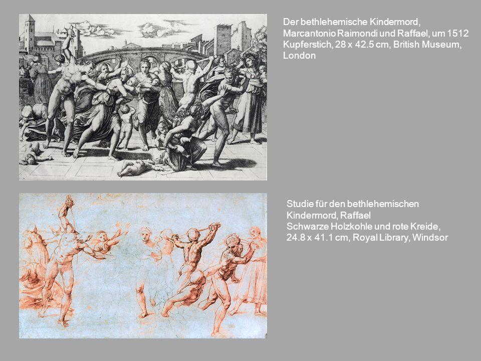Der bethlehemische Kindermord, Marcantonio Raimondi und Raffael, um 1512