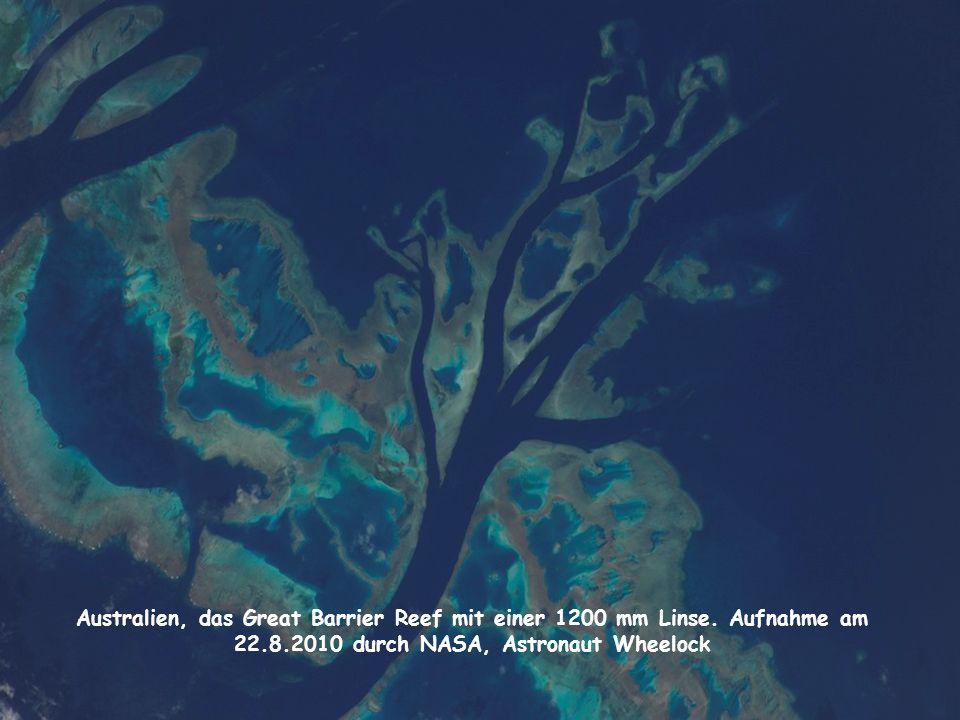 Australien, das Great Barrier Reef mit einer 1200 mm Linse