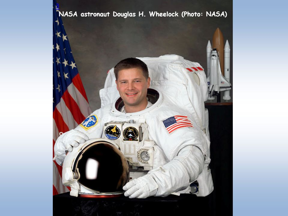 NASA astronaut Douglas H. Wheelock (Photo: NASA)