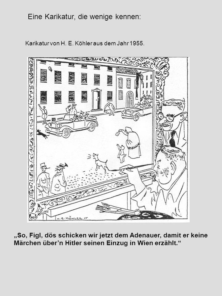 Eine Karikatur, die wenige kennen: