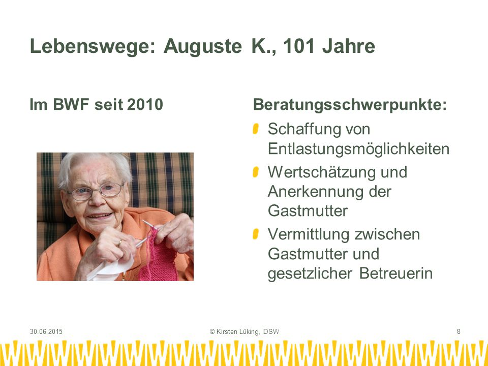 Lebenswege: Auguste K., 101 Jahre