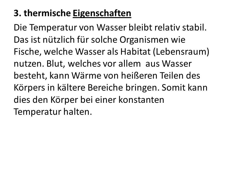 3. thermische Eigenschaften