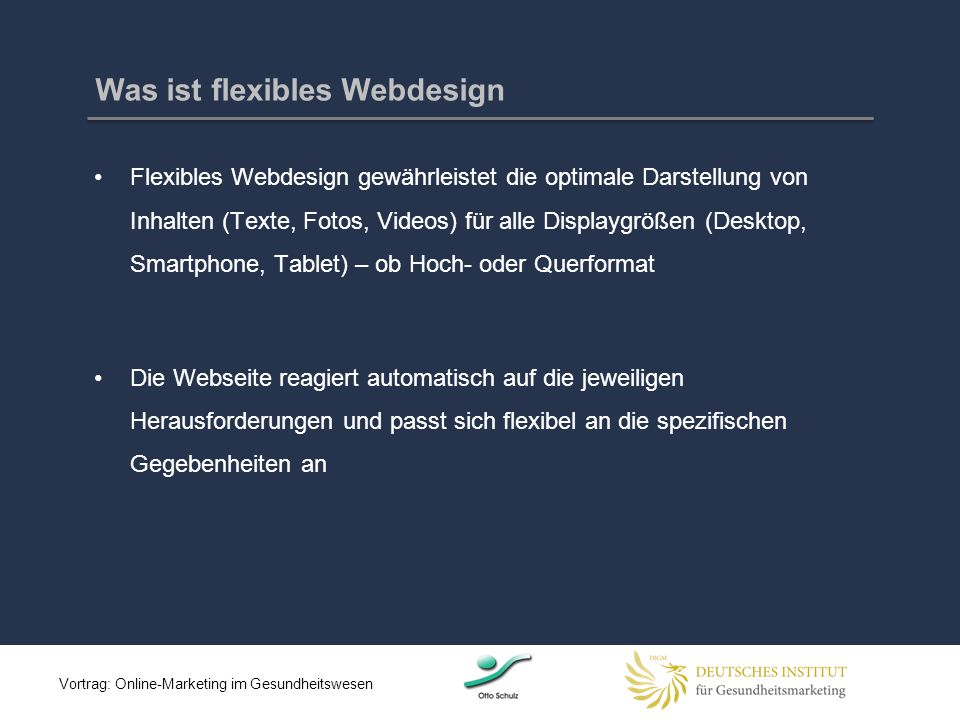 Was ist flexibles Webdesign