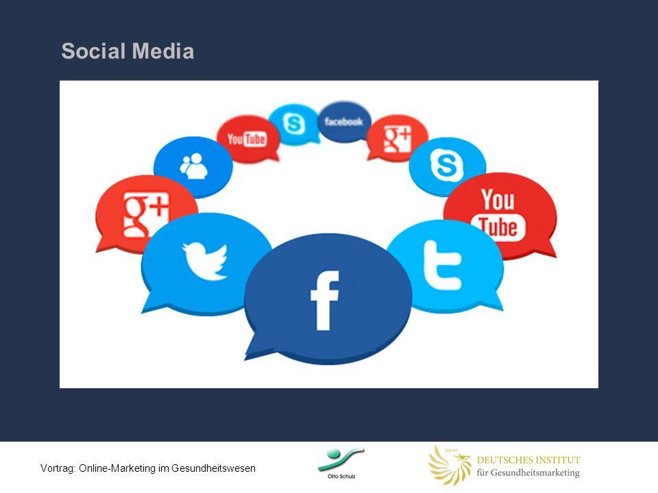 Social Media Vortrag: Online-Marketing im Gesundheitswesen