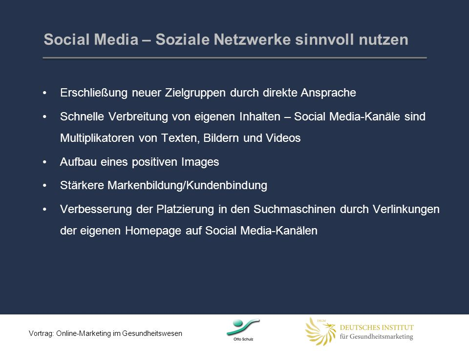 Social Media – Soziale Netzwerke sinnvoll nutzen