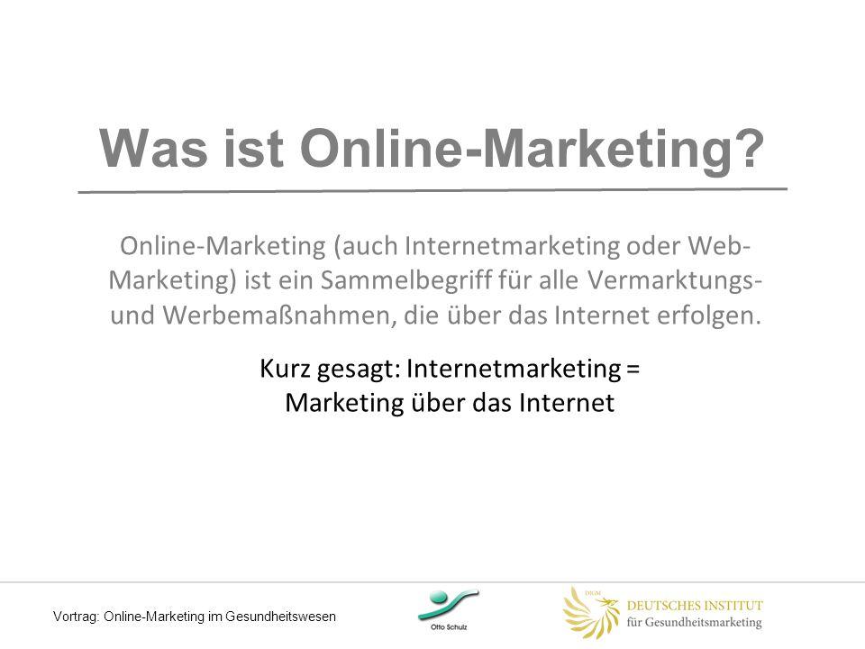 Was ist Online-Marketing