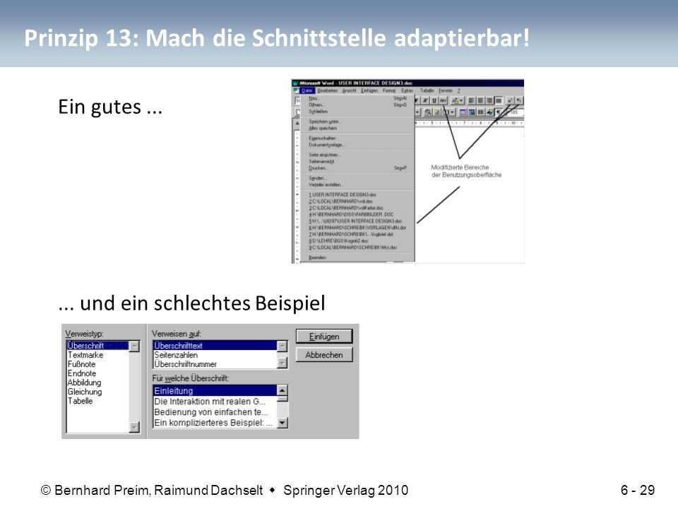 Prinzip 13: Mach die Schnittstelle adaptierbar!