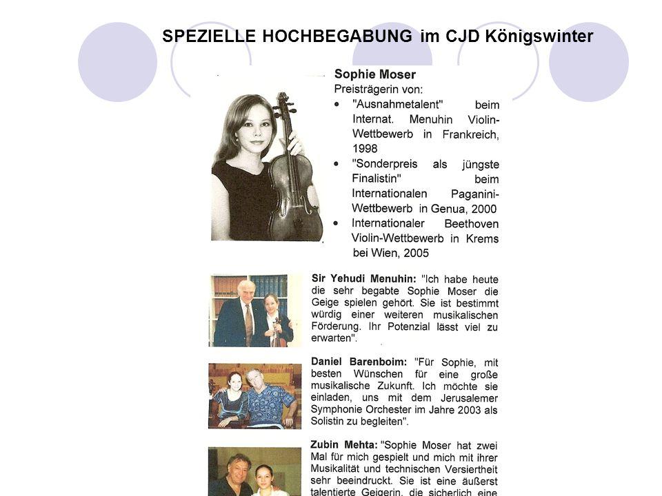 SPEZIELLE HOCHBEGABUNG im CJD Königswinter