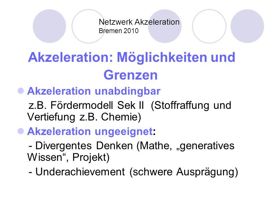 Netzwerk Akzeleration Bremen 2010