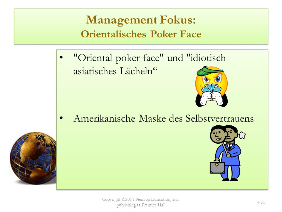 Management Fokus: Orientalisches Poker Face