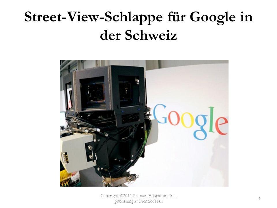 Street-View-Schlappe für Google in der Schweiz