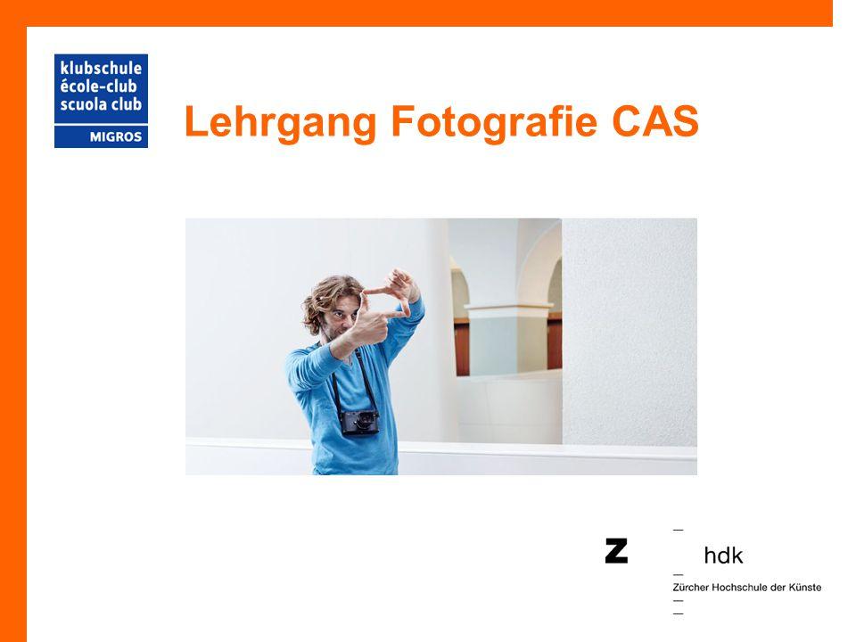 Lehrgang Fotografie CAS