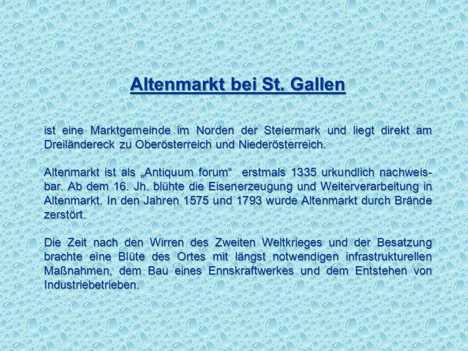 Altenmarkt bei St. Gallen